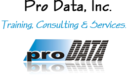 Pro Data, Inc. Training, Consulting, and Services